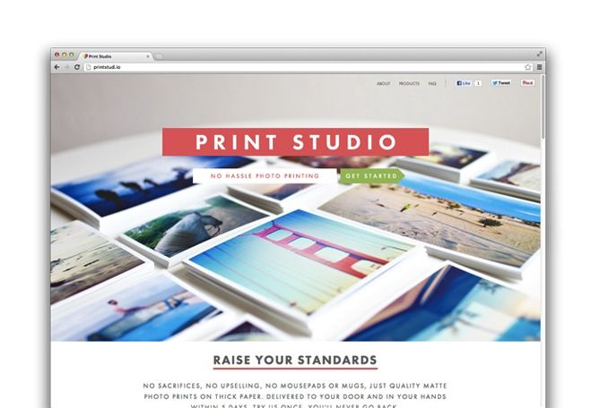 Print Studio is a cool cheap way to get your instagram photos printed. They have square print options, mini books, collage and framing options too — fairly inexpensive! @Chelsea Curt This site is great!