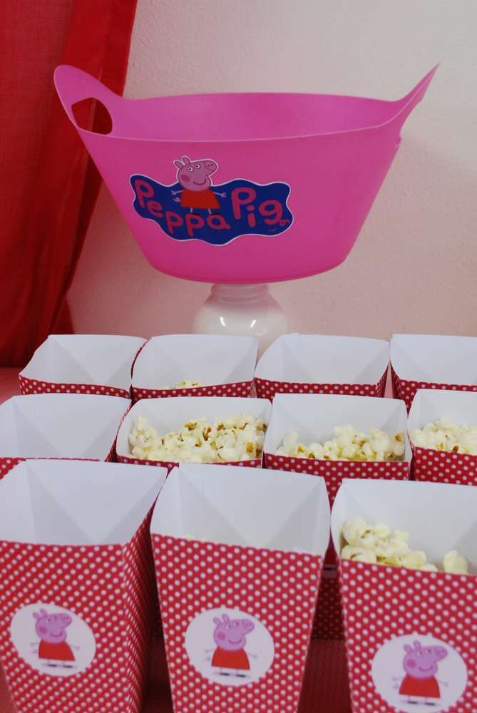 Peppa Pig Birthday Party Ideas | Photo 16 of 20 | Catch My Party