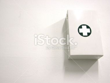 First aid kit - Warm Royalty Free Stock Photo