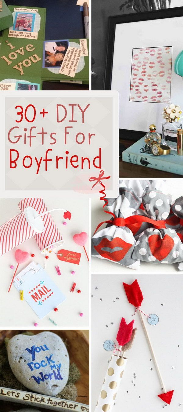 30+ DIY Gifts For Boyfriend I want to learn Diy gifts
