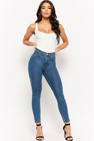 High Waist Skinny Jeans Best Jeans For Women Skinny