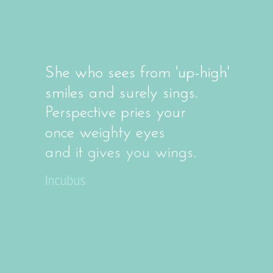Fave Incubus lyrics