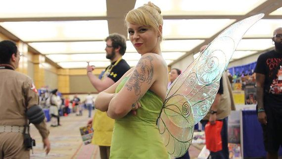 Transparent Wire-Framed Fairy Wings by ShandyCakessCostumes