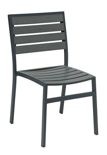 Outdoor Café Armless Chair | National Business Furniture