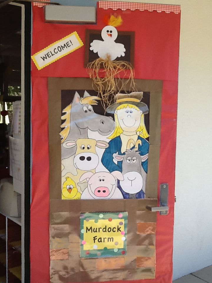1000 images about classroom bulletin boards on pinterest for Farm door ideas