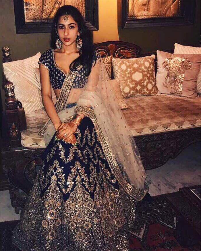(May, 2017) Saif Ali Khan's Daughter Sara Rocks Sabyasachi Mukherjee Ensembles Like A Royal Princess, via @sunjayjk
