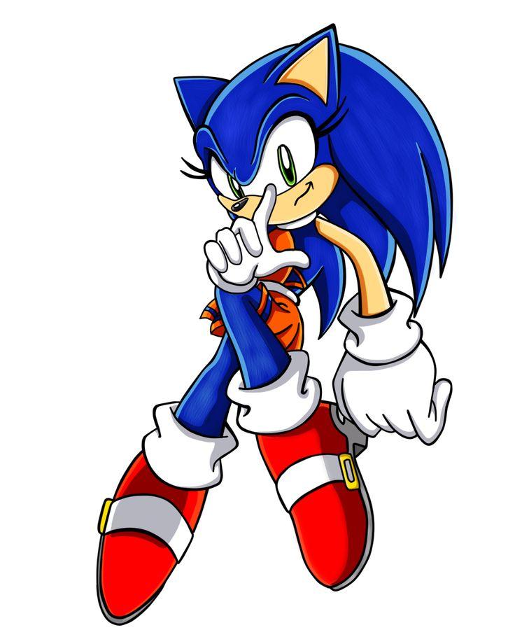 Sonic the Hedgehog Gender Bender by Sorikku za Hejjihoggu.  Soric the Hedgehog [SMC]