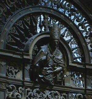 Cancellata della Cappella del tesoro di San Gennaro.  Cosimo Fanzago.