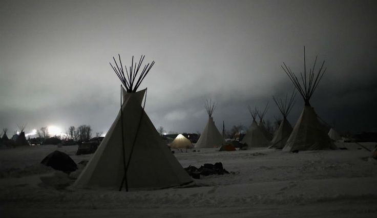 Christmas Comes To Standing Rock:  Christmas Stockings, Cold Weather Supplies And Gifts Delivered To Water Protectors At DAPL Protest Camp