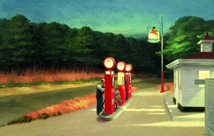 Американский художник Эдвард Хоппер (Edward Hopper)