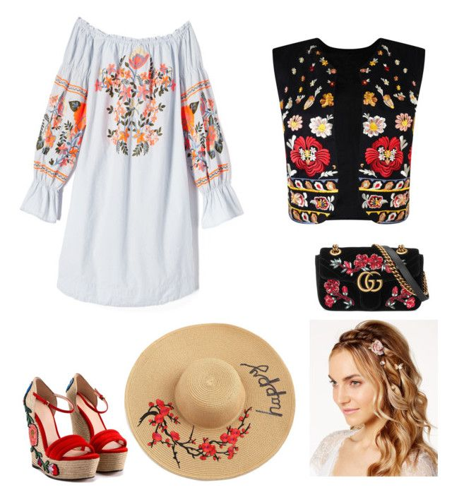 Untitled #7 by mariateodorabadicioiu on Polyvore featuring polyvore, fashion, style, Free People, Nasty Gal, Gucci, Josette and clothing
