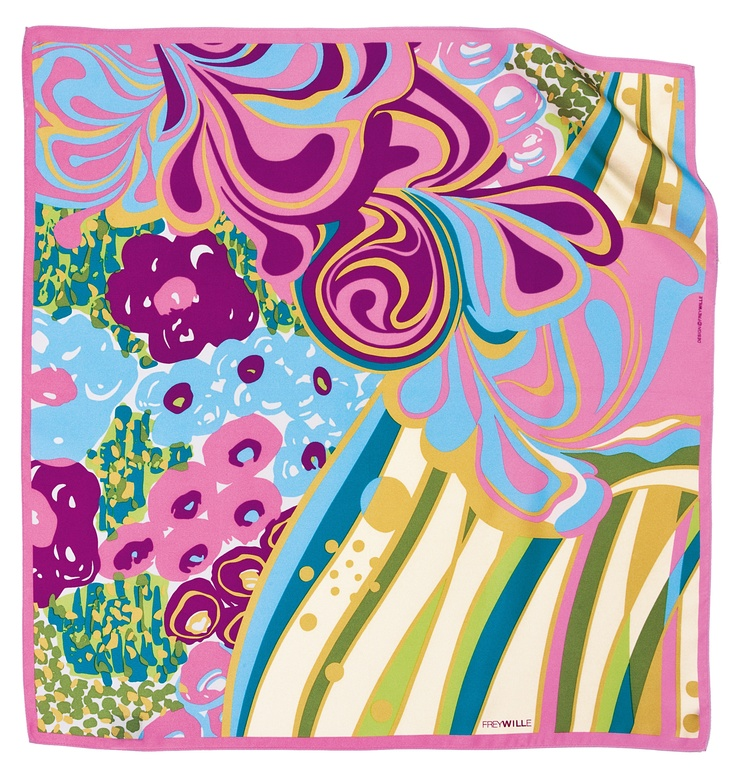 Color explosion!   Gavroche scarf from FREYWILLE's Floral Symphony collection.   You'll find it at Baneasa Shopping City!