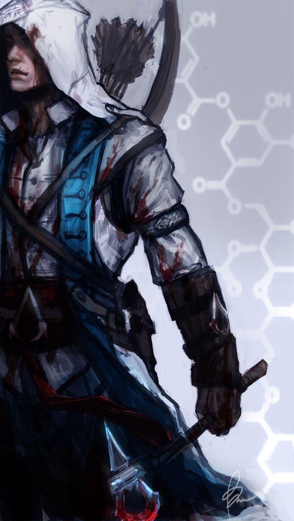 Connor - Assassins Creed III by TheBoyofCheese.deviantart.com on @deviantART