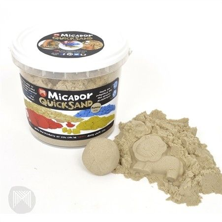 Micador - QuickSand Modelling Sand Natural would be perfect for the sand table her nanna is getting #EntropyWishList #PinToWin