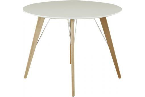 17 meilleures id es propos de table ronde pas cher sur pinterest tables r - Table a manger blanche pas cher ...