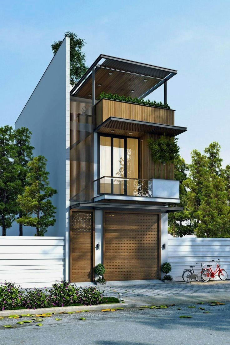 34 Samples Of Modern Houses Most Popular Exterior Design: Diseño De Casa Ecológica De Estilo Minimalista Con Consumo De Energía Mínimo, Disfruta De Villa