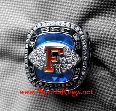 "Sports Rings :: Championship Rings :: NCAA Football :: 2008 UF Florida Gators Football ""SEC CHAMPIONSHIP"" **Starting** Players Ring-Star RB!!"