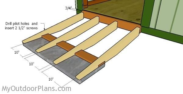 1000 Ideas About Shed Ramp On Pinterest Building A Shed