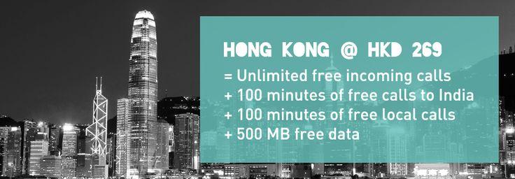 Hongkong hkd 269 unlimited free calls 100