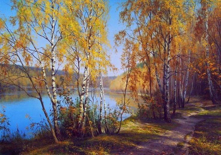 Живописные пейзажи художника Сергея Басова