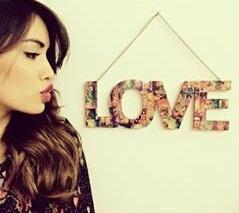 LOVE- Lali y su decoracion
