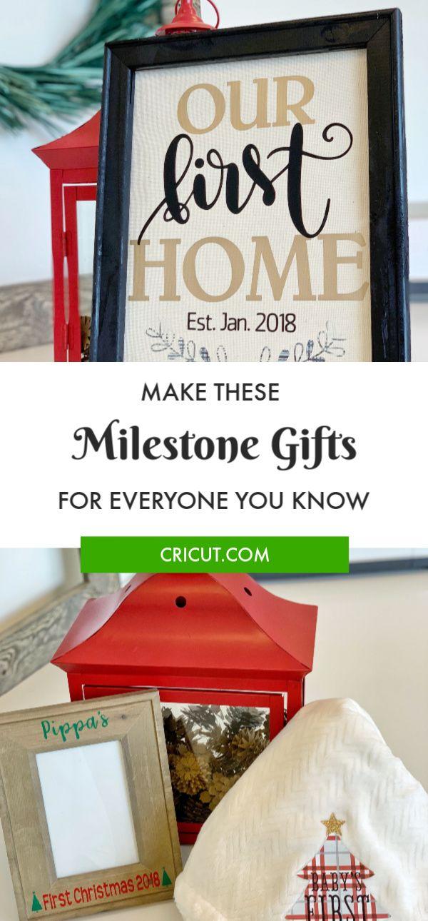 8 Weeks To A Diy Holiday Gift Giving Week 2 Milestone Gifts Cricut Diy Holiday Gifts Diy Holiday Gifts Cricut