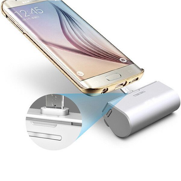 portable mini power bank only design for all Android mobile phone 3000mah External Battery Bateria Backup Charger Poverbank