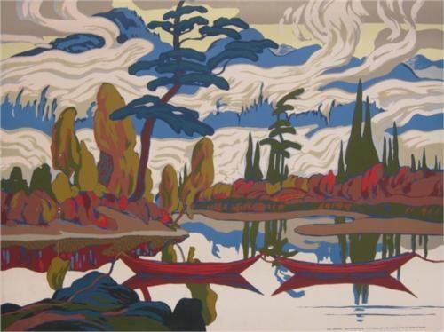 Mist Fantasy - J. E. H. MacDonald / Naturalism