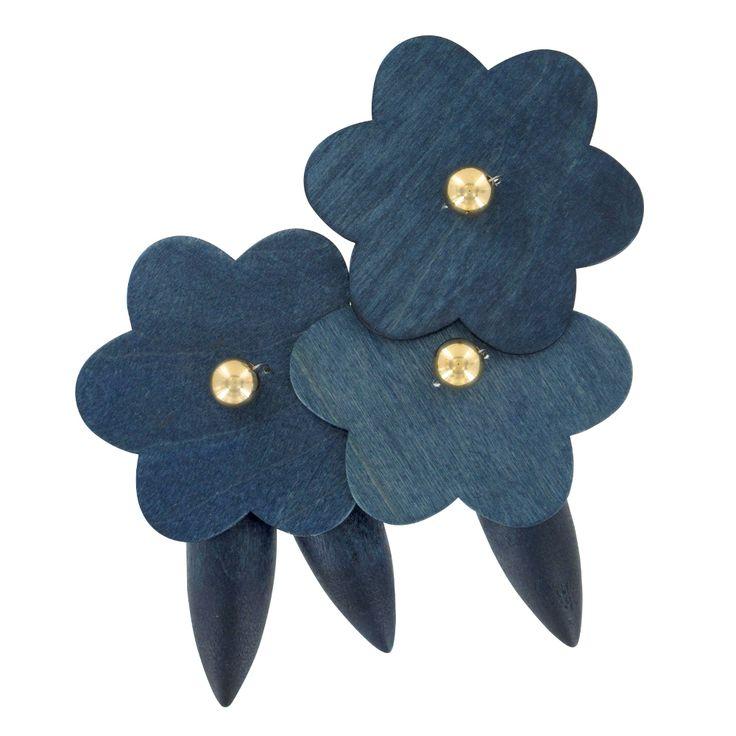 Aarikka - Ateljee : Kolibri brooch