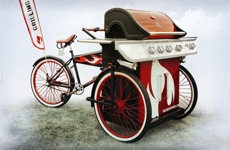 BBQ Happiness on Wheels