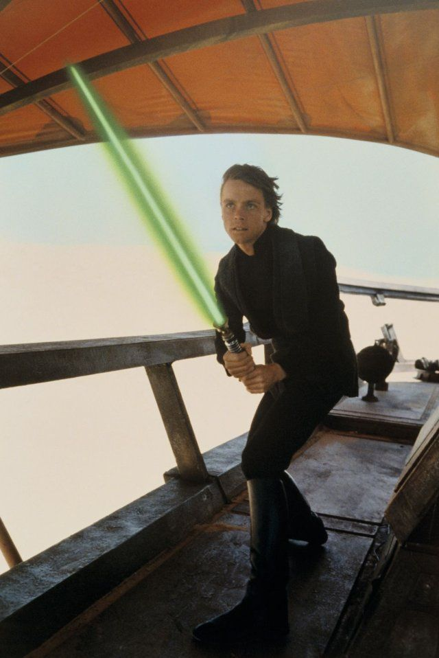 "Luke Skywalker from 'Return of the Jedi', ""I am a Jedi, like my father before me""..."