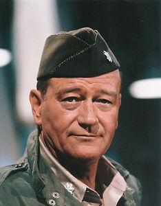 "John Wayne as Lieutenant Colonel Benjamin H. Vandervoort in ""The Longest Day"" (1962)"