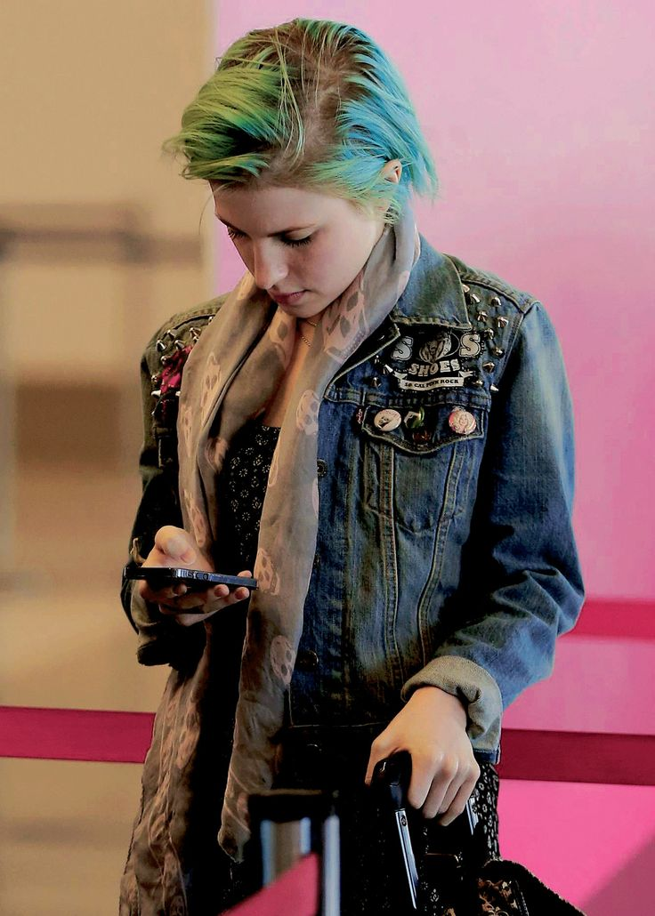 Hayley.. maybe checking on some tweets?