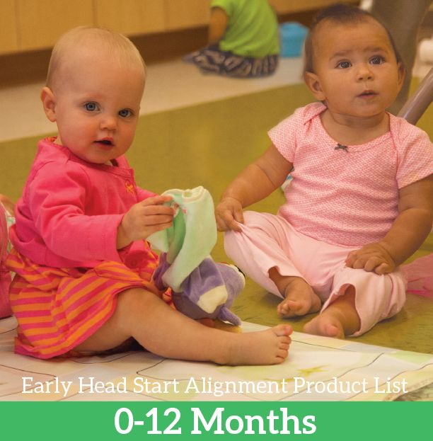Recommended Early Head Start product for ages 0-12 months