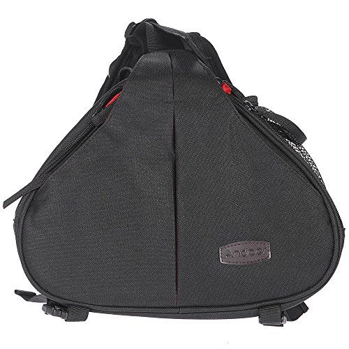 Andoer Messenger Camera Bag Casual Fashion Waterproof Case Shoulder Bag with Rain Cover for Canon Nikon Sony SLR DSLR >>> See this great product.