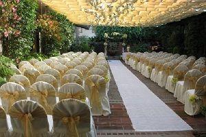 Southern California Wedding Venue A Pretty Patio In Pasadena