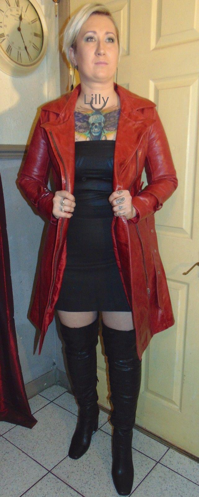 http://www.ebay.co.uk/itm/Ladies-Long-Zip-Red-Leather-Cuir-Cuero-Pelle-Coat-Size-8-UK-6-USA-34-EUR/122771645169?hash=item1c95c2a2f1:g:w34AAOSw1QpZ710B