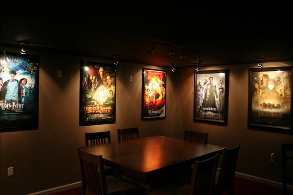 Ideas for our cinema themed office/guest room