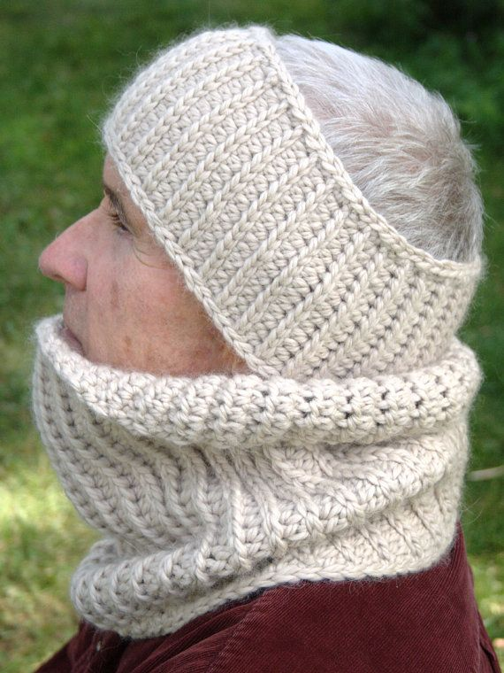 Crochet Pattern Mens Cowl Pattern Mens By