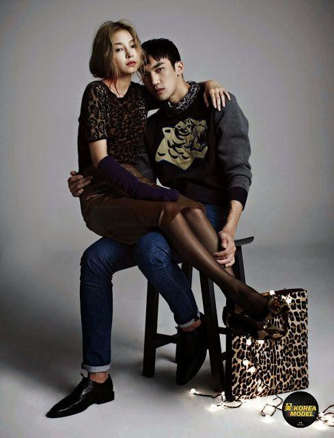 Korea Model모델 /Idol아이돌: Couple Christmas