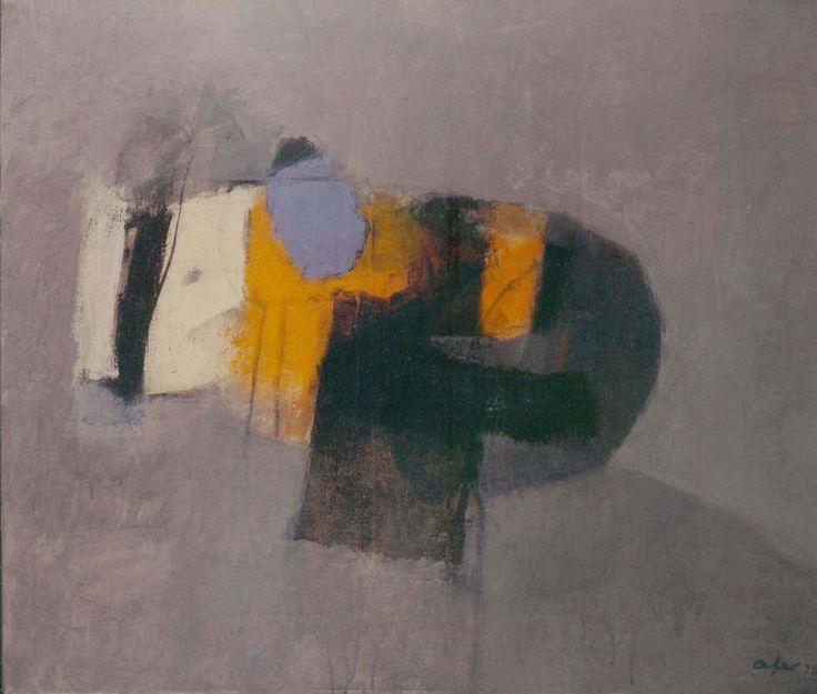 Afro Basaldella (1912 – 1976) Arancio ceruleo, 1970