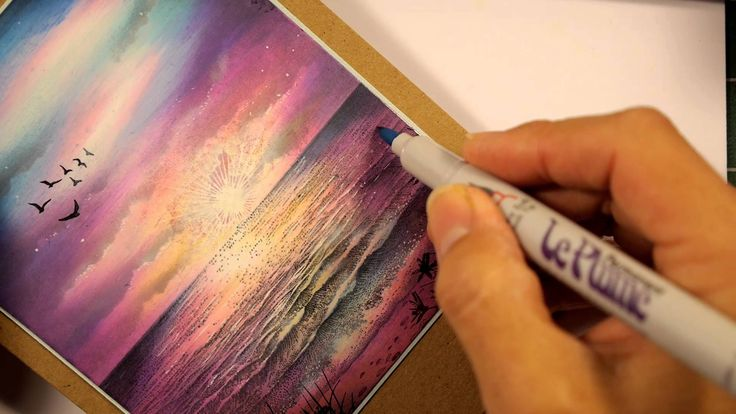 Stampscapes 101: Video 131.  The Sky and the Sea
