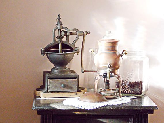 Photo coffee grinders Antique coffee grinder Photography