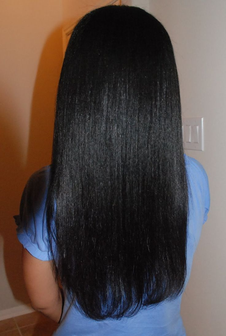 Healthy relaxed hair, Relaxed hair and Relaxed hair health ...