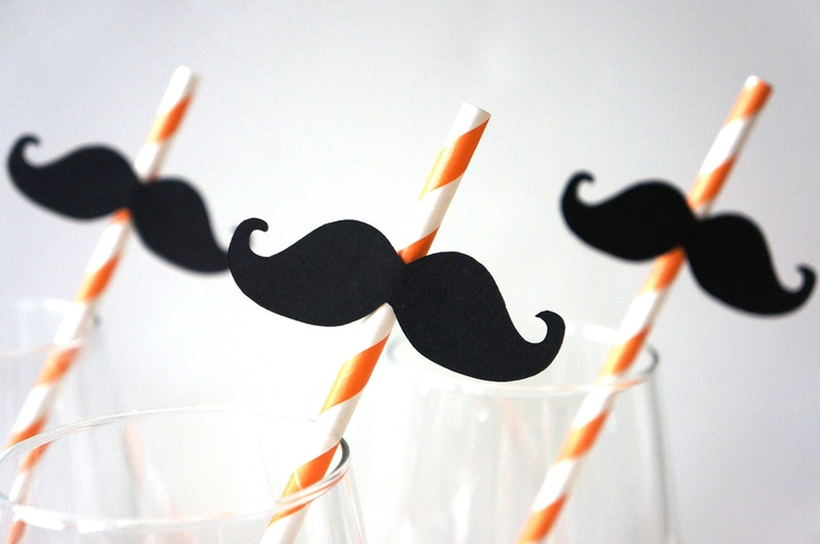 SALE  Photo Booth Props  Mustache Straw Photo by TheManicMoose, $5.00