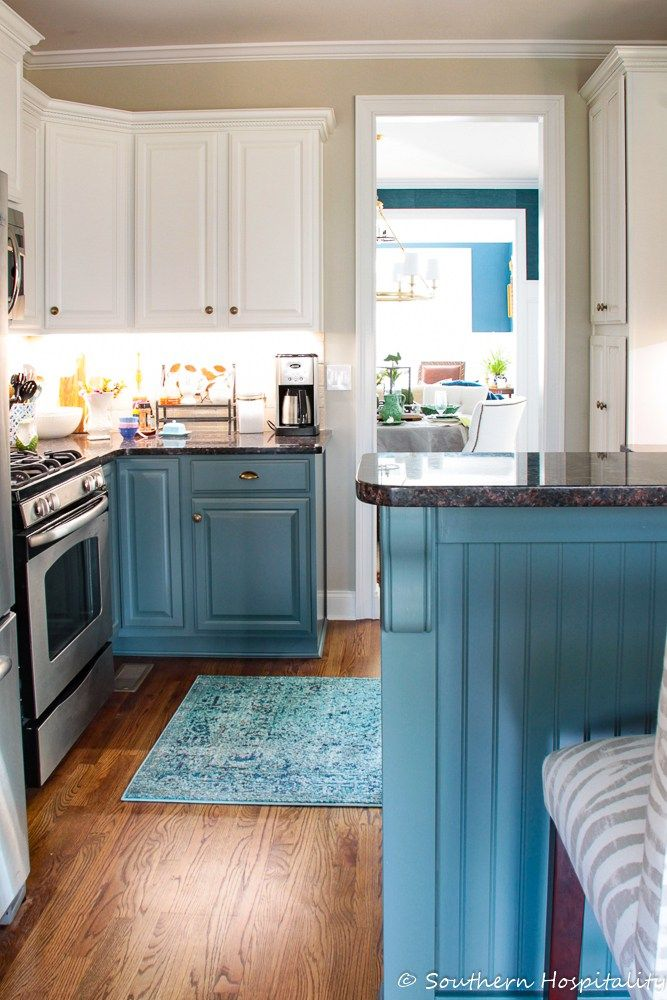 Spring Home Tour Kitchen Style Home Kitchens Living Room