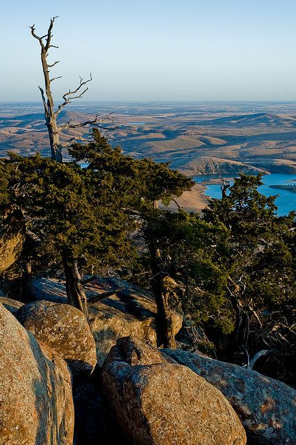 Mt. Scott, OK. Yes, there are hills and even mountains in Oklahoma.
