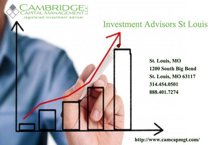 Best Investment Advisors St Louis - http://www.camcapmgt.com/