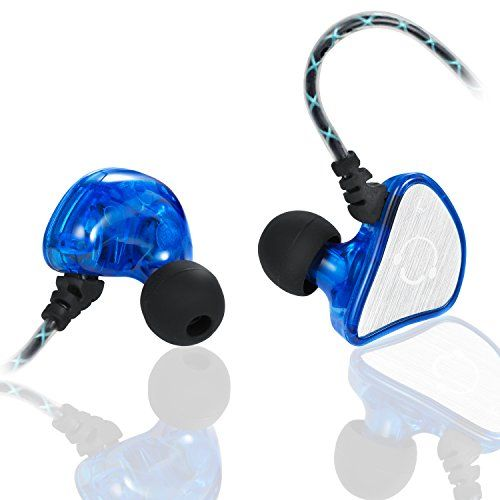 Special Offers - VBASS In-Ear Headphones Noise Isolating Earbuds with Microphone Sweatproof Secure Fit Designed to Stay in your Ears (Blue) - In stock & Free Shipping. You can save more money! Check It (November 22 2016 at 09:59AM) >> http://wheadphoneusa.net/vbass-in-ear-headphones-noise-isolating-earbuds-with-microphone-sweatproof-secure-fit-designed-to-stay-in-your-ears-blue/