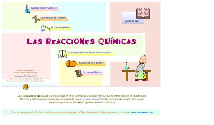 Las reacciones químicas…
